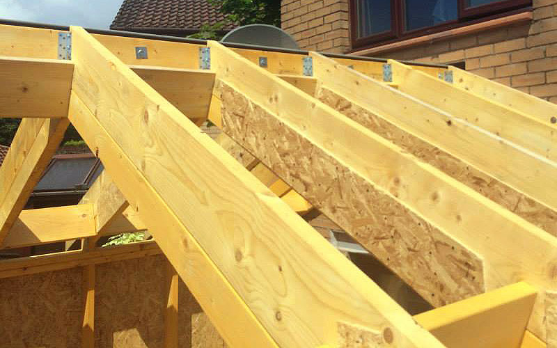 Roof timber